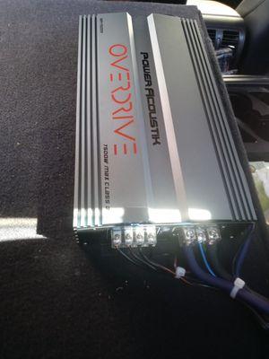 7500 watts class d 1 channel amplifier need sold today 250obo for Sale in Phoenix, AZ