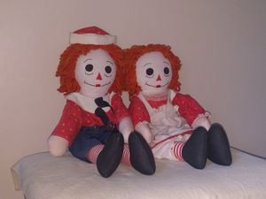 Raggedy Ann and Andy Handmade Dolls for Sale in East Windsor, CT