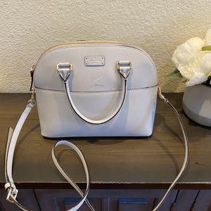 Kate Spade Gray Crossbody Handbag for Sale in Temecula, CA