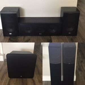 SPEAKERS 🔊 (3 different sets, different prices) for Sale in Yorba Linda, CA