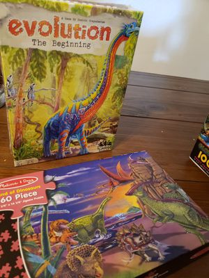 Dinosaur Game and Puzzle for Sale in Acampo, CA