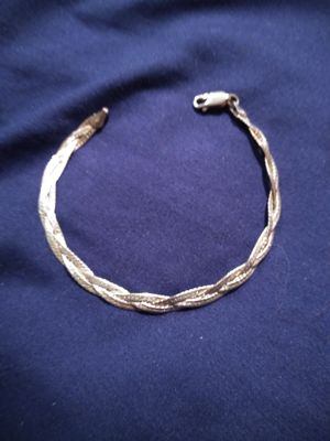 Beautiful Sterling Silver Stamped 925 women's bracelet for Sale in Tacoma, WA