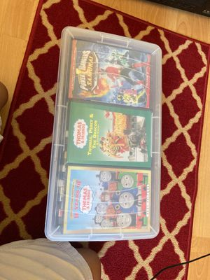 Box of family movies for Sale in West Covina, CA