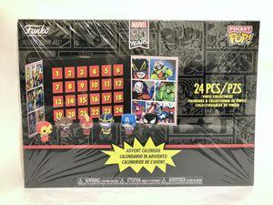 NEW! Marvel Super Heroes Advent Calendar - Funko Pocket POP! Pint Size Heroes for Sale in Murphy, TX