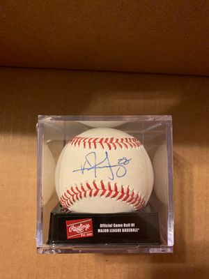 Vince Velasquez Signed Baseball Phillies Astros for Sale in Miami, FL