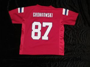 Patriots jersey by Nike# 87 Gronk youth medium for Sale in Dedham, MA