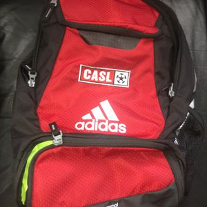 Red Casl Adidas Soccer Backpack for Sale in Raleigh, NC