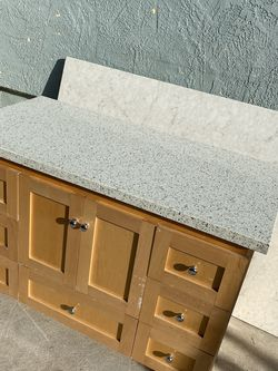 Used Bath Vanity Choose A Color Countertop for Sale in San Diego,  CA