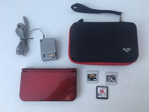 Nintendo 3DS XL Launch Edition 1GB bundle for Sale in Akron, OH