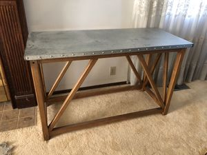 Custom built wood console table for Sale in Riverton, UT