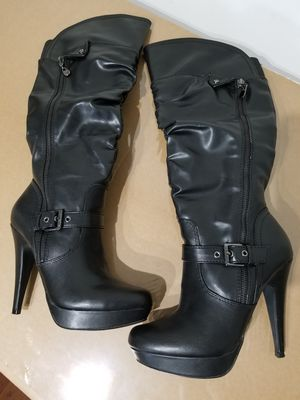 "G by Guess ""Drea"" Black Size 7.5M Women Heel Boots for Sale in Baltimore, MD"