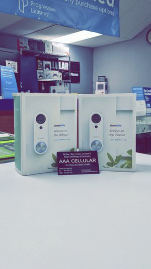 SimpliSafe - Pro Video Doorbell - Wired - White ($50 DOWN) TAKE IT HOME TODAY!! BRAND NEW IN BOX! for Sale in Arlington, TX