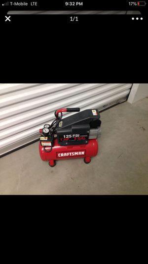 Craftsman air compressor for Sale in Mount Laurel Township, NJ
