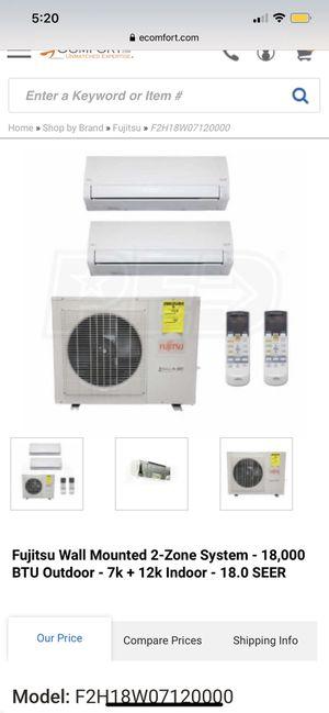 Mini split ac heat unit for Sale in Nashville, TN
