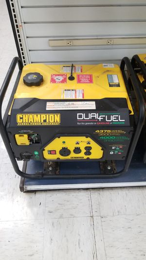 Champion Duel Fuel Generator for Sale in Kansas City, MO