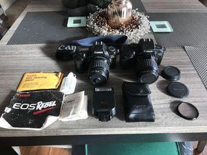 Vintage Canon EOS Rebel & EOS 700 Film Cameras for Sale in Hartford, CT
