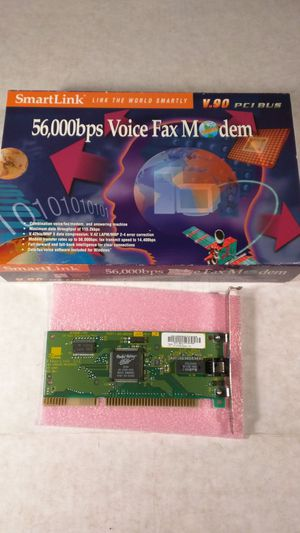 Smart Link 56,000bps Voice Fax Modem for Sale in Vallejo, CA