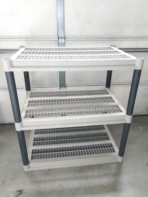 "Large 3-Shelf Shelving Unit Storage Shelf Rack 38"" x 36"" x 24"" for Sale in Victorville, CA"