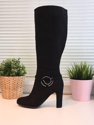 Women Long Suede Heel Winter Boots for Sale in Annandale, VA