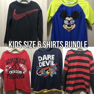 Kids boys size 6 shirts bundle tops clothes clothing for Sale in Pittsburgh, PA