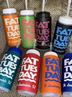 8 Fat Tuesday Drink Holders $10 Takes All for Sale in Hollywood,  FL