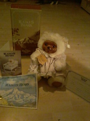 Sweet SunDay collection 1988 RAikes Bears certificate of Authenticity for Sale in Butte, MT
