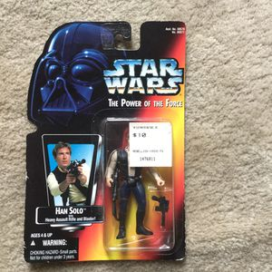 Vintage Collectible Star Wars: The Power of the Force toy- Han Solo for Sale in Vancouver, WA