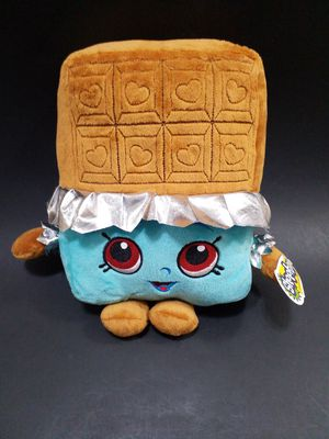 """Shopkins Large CHEEKY CHOCOLATE CANDY BAR 9.5"""" Pillow Plush STUFFED Toy for Sale in Tacoma, WA"""