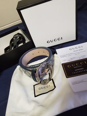 Authentic Gucci Belt size 90/36 for Sale in Romeoville, IL
