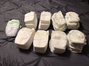 77 size 1 diapers for Sale in Bloomington, CA
