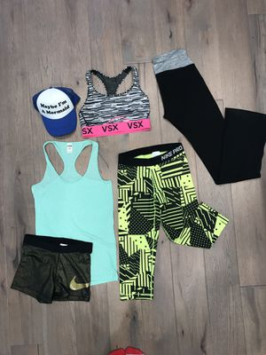 Workout clothing bundle for Sale in Pleasanton, CA