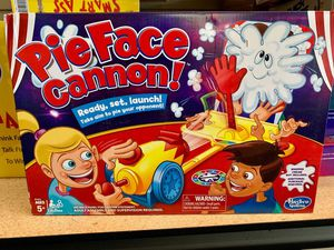 Pie Face Cannon Game Whipped Cream Family Board Game Kids Ages 5 and Up for Sale in Norfolk, VA