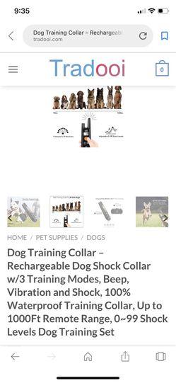 Dog care training collar for Sale in Prattville,  AL