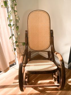 Vintage Cane Rocking Chair for Sale in Portland,  OR