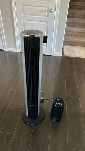 Bionaire Tower Fan Rotating Remote Desktop Standing Cool for Sale in Tacoma, WA