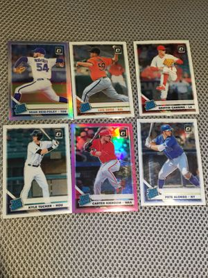 MLB rated rookie lot optic Pete Alonso Kyle tucker for Sale in Chagrin Falls, OH