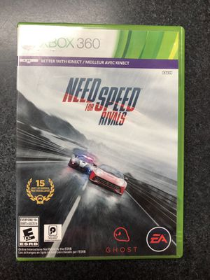 Xbox 360 Need for Speed Rivals Game for Sale in Griswold, CT