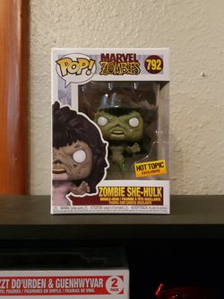 Funko Pop Marvel Zombies She Hulk Exclusive for Sale in Newberg,  OR