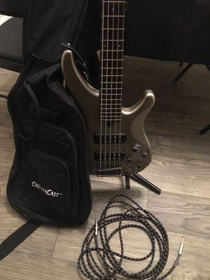 Yamaha Bass Guitar (Rarely Used) for Sale in Marietta, GA