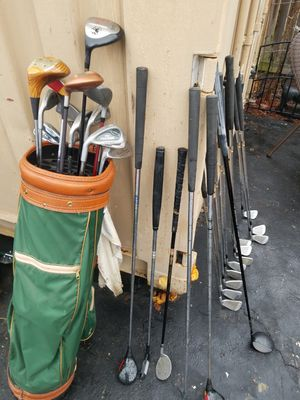 55 golf clubs and bags for Sale in Arbutus, MD