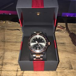 Wrist Watch, Bronze And Silver Finish, Military Time for Sale in Moundridge,  KS