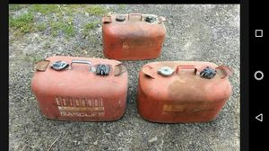 6 gallon boat gas tanks for Sale in Brooktondale, NY