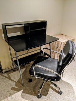 Desk and chair for Sale in Washington, DC