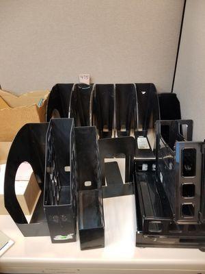 Office bins / organizers for Sale in Burbank, IL