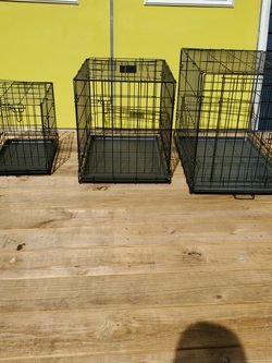 Large Metal Dog Crate for Sale in Tampa,  FL