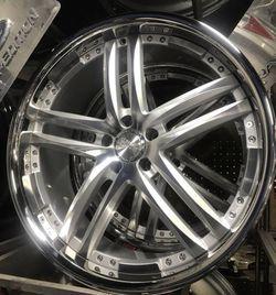 22 brush wheels rims NEW NO tires for Sale in River Grove,  IL