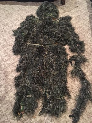Woodland Ghillie suit for Sale in Orange, TX