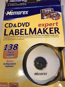 Memorex CD And DVD Expert Labelmaker for Sale in Melville,  NY