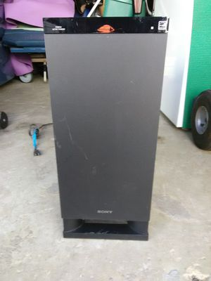 Subwoofer SONY for Sale in Alexandria, VA