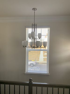 Chandelier Brand New Home , single pendant and larger pendants available as well to match. $100.00 for Sale in Mount Rainier, MD